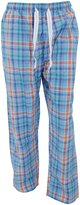 Cargo Bay Mens Woven Plaid Pattern Pyjama Bottoms/Lounge Pants