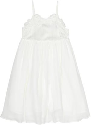 Stella McCartney Kids Silk-crepe dress
