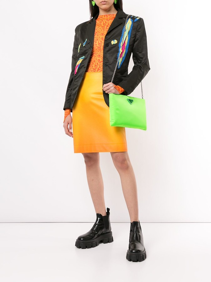 Thumbnail for your product : Charles Jeffrey Loverboy Ripped Detail Blazer