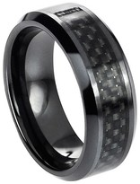 Ring Black Daxx Men's Fine Promise Ring - Black