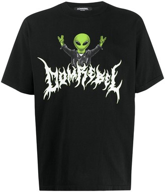 Dom Rebel Rebel Alien T-shirt