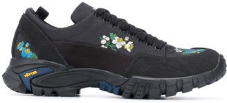 Cecilie Bahnsen x Diemme floral embroidered sneakers