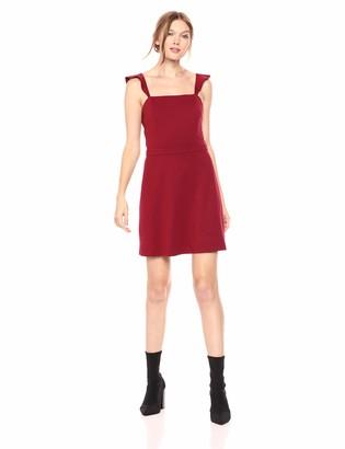Ali & Jay Women's Sleeveless Stretch Ponte Knit Fit & Flare Dress