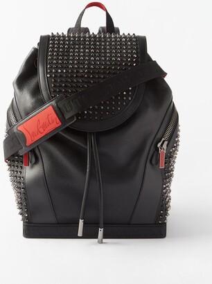 Christian Louboutin Explorafunk Studded Leather Backpack - Black Multi
