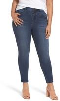 Melissa McCarthy Plus Size Women's High Rise Front Yoke Pencil Jeans