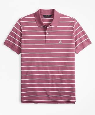 Brooks Brothers Slim Fit Thin Stripe Polo Shirt