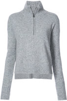Veronica Beard Farryn half zip sweater