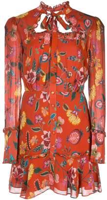 Alexis Morgana floral-print mini dress