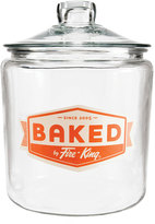 Anchor Hocking 1-Gallon Baked by FireKing Heritage Hill Jar