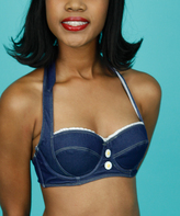 Lucy B Denim Doll Underwire Bikini Top - Plus Too