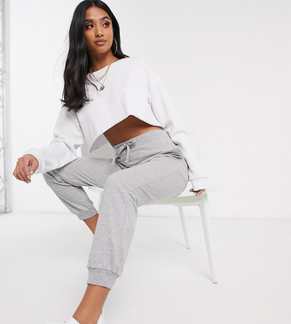 ASOS DESIGN Petite basic jogger with tie