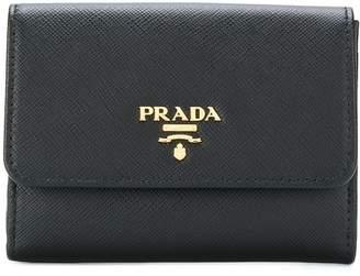 Prada french flap wallet