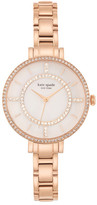Kate Spade Women's Pave Gramercy Skinny Watch