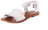 Inuovo Flat White Sandal