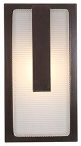 Latitude Run Tepper Outdoor Bulkhead Light Finish: Bronze, Bulb Type: Incandescent
