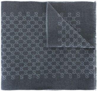 Gucci GG jacquard scarf