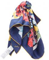 Joules Silk Square Scarf
