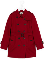 Burberry trench coat - kids - Cotton/Viscose - 8 yrs