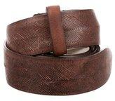 Brunello Cucinelli Laser Cut Waist Belt
