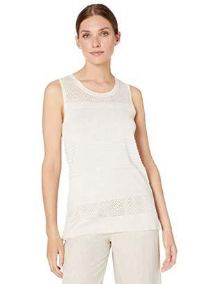 Calvin Klein Women's Sleeveless Multi Stich with Lurex
