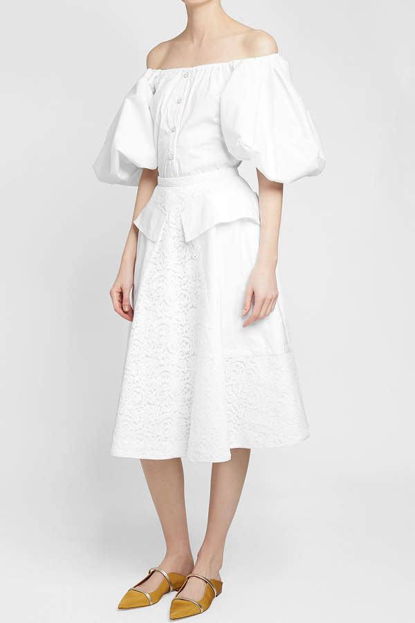 N°21 N21 Lace Midi Skirt