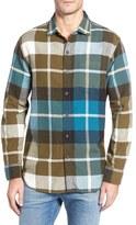 Tommy Bahama Acai Plaid Flannel Cotton Sport Shirt