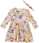 Ted Baker Girls Floral Print Dress & Headband