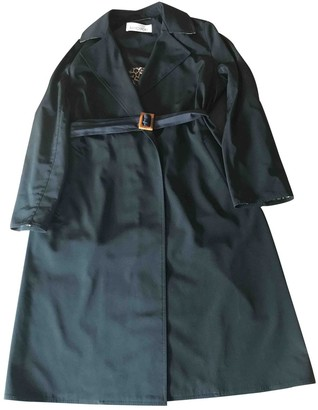Ramosport Black Polyester Trench coats