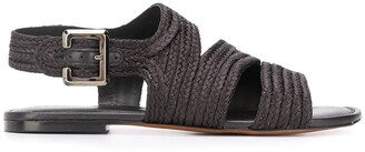 Clergerie Iris braided sandals