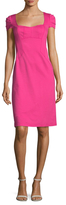 Nanette Lepore Yan Yan Seaming Sheath Dress