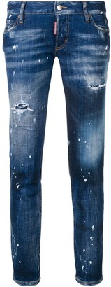 DSQUARED2 Splash Paint Jeans