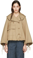 See by Chloe Beige Oversized Pocket Jacket