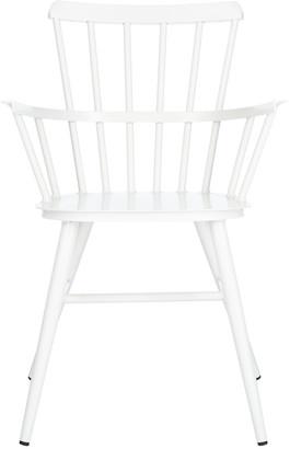 Safavieh Clifton Arm Chair/Matte White