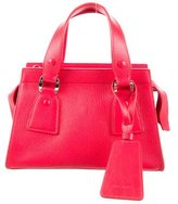 Giorgio Armani Pebbled Leather Satchel