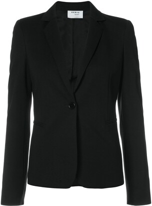 Akris Punto Fitted Single-Breasted Blazer