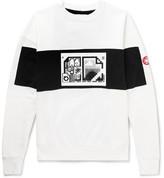 Cav Empt - Printed Loopback Cotton-jersey Sweatshirt - White