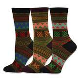 TeeHee Socks TeeHee Winter Jacquard Fashion Crew Socks for Women 3-Pack
