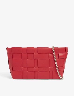 3.1 Phillip Lim Odita lattice-woven leather pouch
