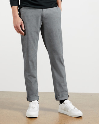 Ted Baker SAME Slim Fit Checked Trouser