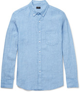 J.crew - Button-down Collar Linen Shirt