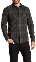 RVCA Long Sleeve Plaid Regular Fit Shirt