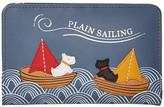 Radley London Sailing - Medium Bifold Purse (Denim) Handbags
