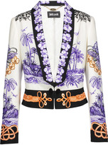 Just Cavalli Printed cady blazer