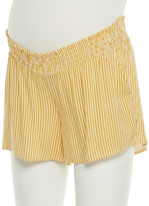 A Glow Maternity a:glow Smocked Shorts