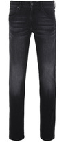 Boss Orange Barcelona Distressed Charcoal Modern Regular Fit Jeans