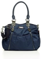 Storksak Infant 'Olivia' Nylon Diaper Bag - Blue