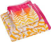 Clarissa Hulse Filix Towel - Coral - Bath Sheet
