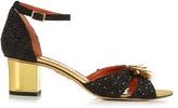 Charlotte Olympia Ferocious raffia sandals
