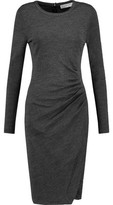 MICHAEL Michael Kors Ruched Marled Jersey Dress