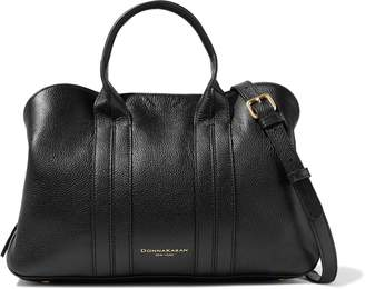 Donna Karan Perry Textured-leather Shoulder Bag